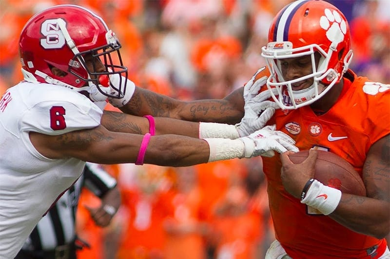 NC State Wolfpack vs. Clemson Tigers