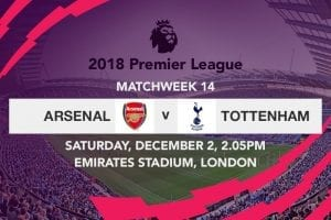 Arsenal v Tottenham