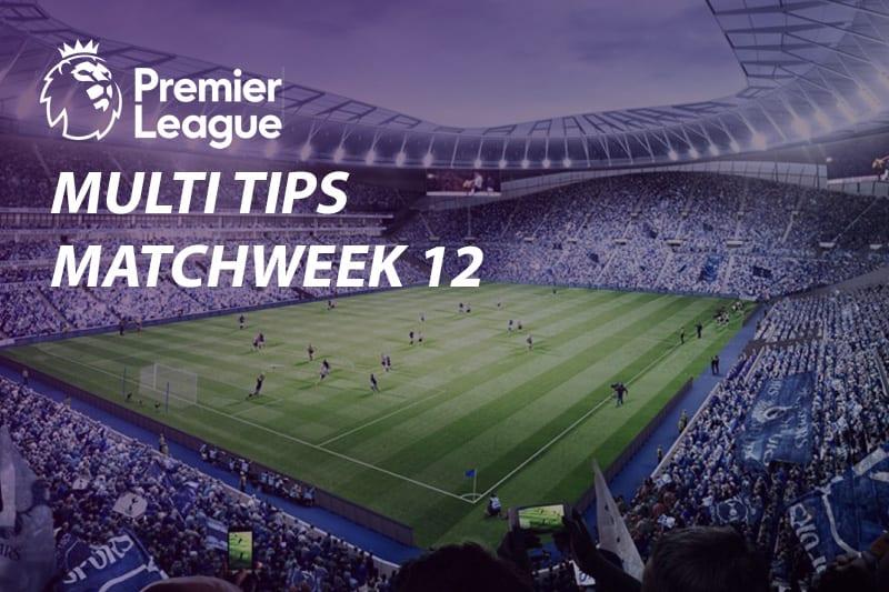 EPL Week 12 parlay