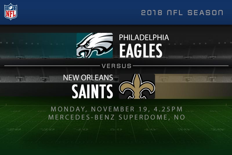 Eagles v Saints