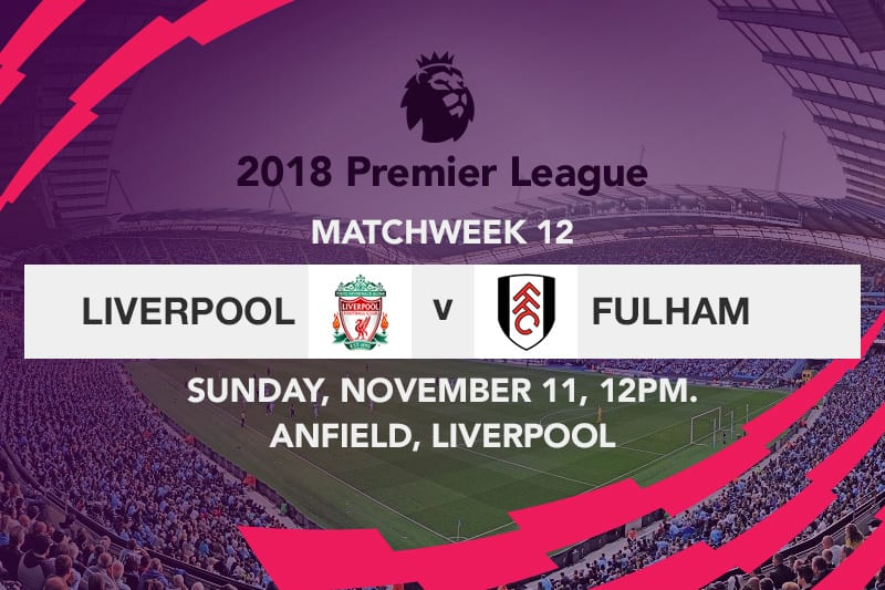 Liverpool v Fulham EPL