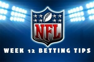 NFL Week 12 betting