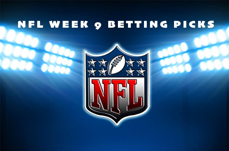 NFL week 9 betting