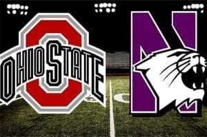 Northwestern Wildcats vs. Ohio State Buckeyes