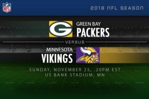 Packers v Vikings