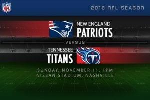 Patriots v Titans