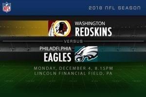 Redskins v Eagles