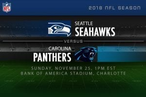 Seattle v Carolina NFL