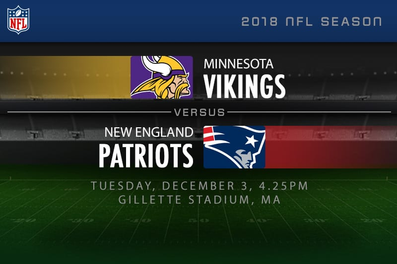 Vikings v Patriots
