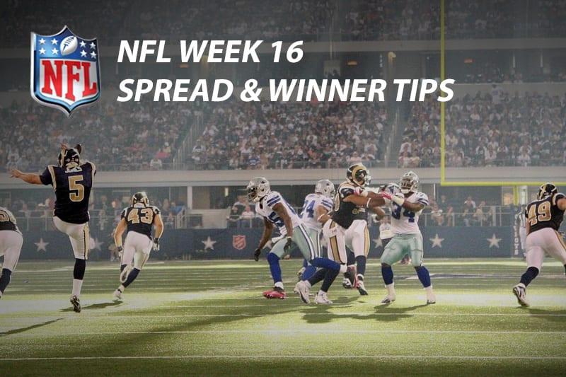 NFL Wk 16 tips