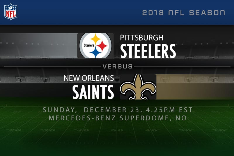 Steelers v Saints