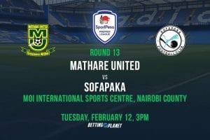 Mathare v sofapaka