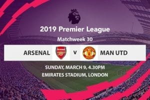 Arsenal v Man Utd