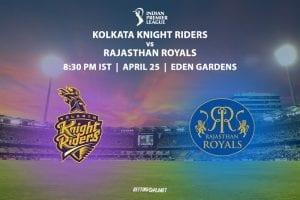 IPL 2019 Kolkata v Rajasthan