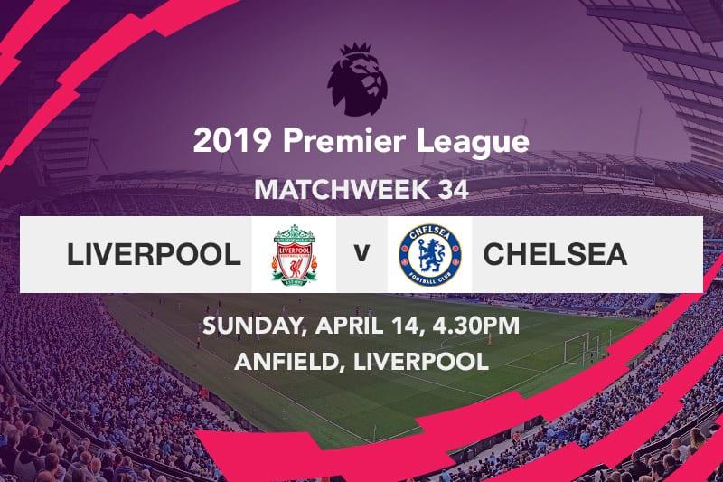 Liverpool v Chelsea EPL