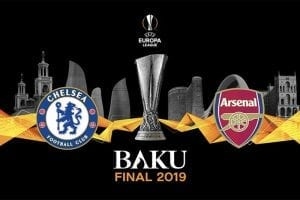Chelsea vs Arsenal Europa League betting