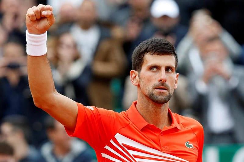 Novak Djokovic tennis betting