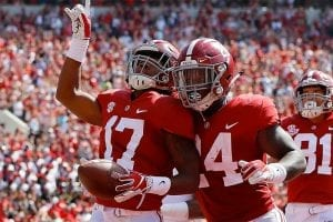 Alabama college football betting