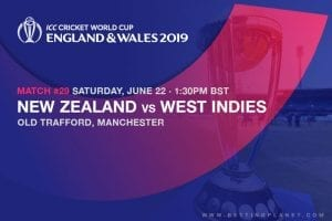 2019 ICC Cricket World Cup odds