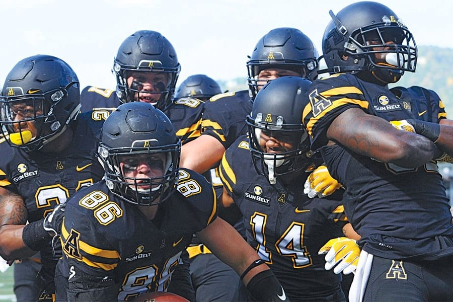 Appalachian State NCAAF betting news