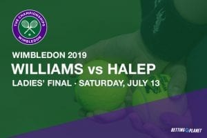 2019 Wimbledon ladies' final betting preview