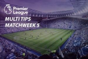 Premier League parlay odds