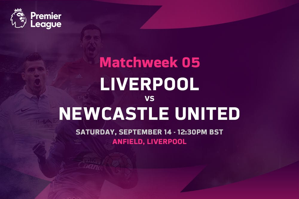Liverpool vs Newcastle Premier League odds