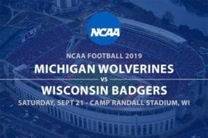 Michigan @ Wisconsin betting odds