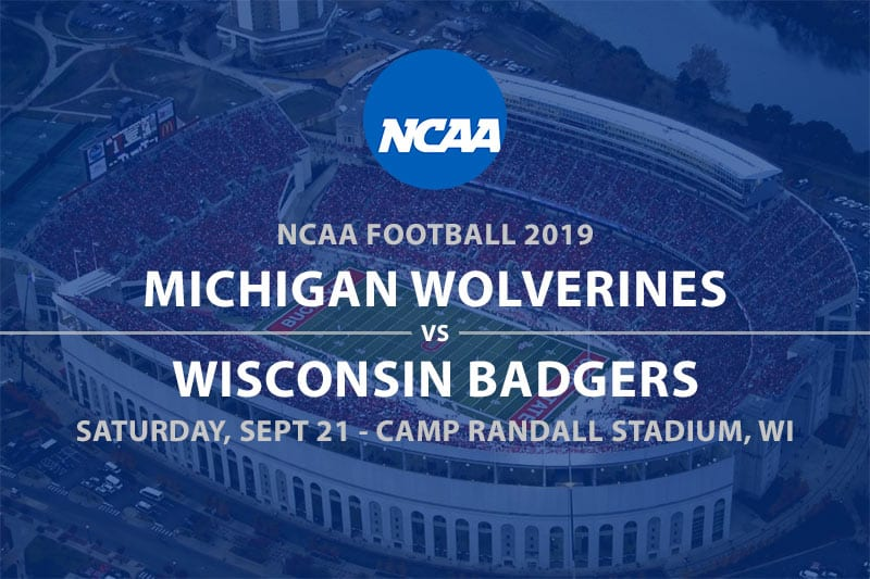 Michigan @ Wisconsin betting odds