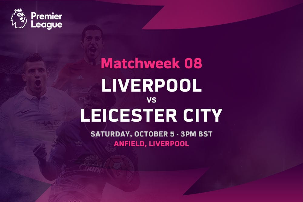 Liverpool vs Leicester City EPL odds